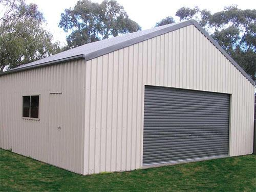 Gable Garage with one door
